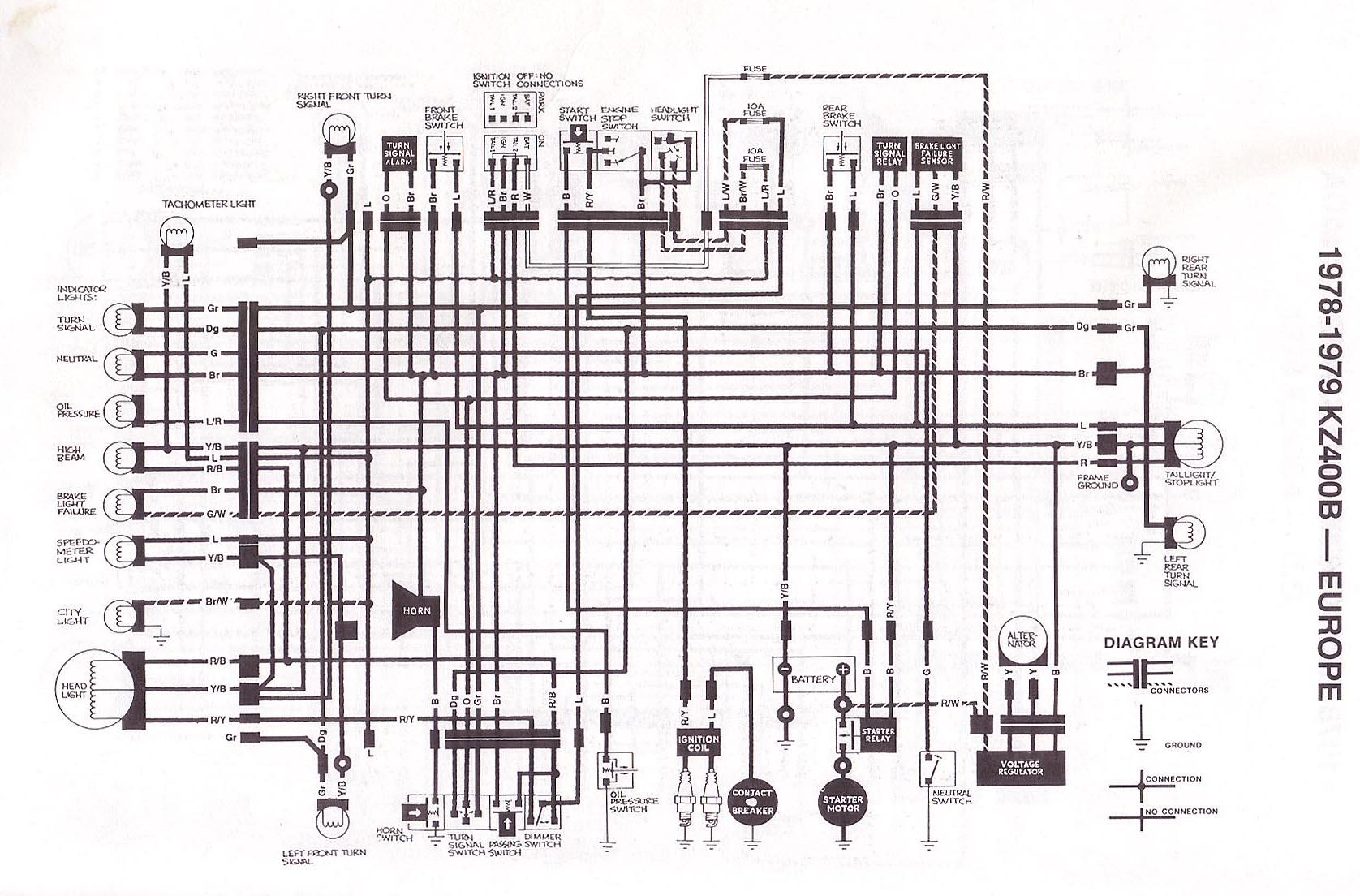 1976 Kz400 Wiring Diagram Schematic Circuit 2002 Kawasaki Prairie 400 Index Of Techh Tips Bilder Diagrams Brute Force 750